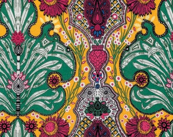 Persian Damask pwkm023 - PERSIA by KM Studio for Free Spirit Fabrics - By the Yard