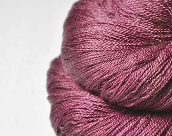 Old puppet - Merino/Silk/Cashmere Fine Lace Yarn