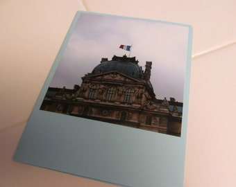 Instagram Photo Card -- Louvre Museum -- Greeting Card -- Blank Inside