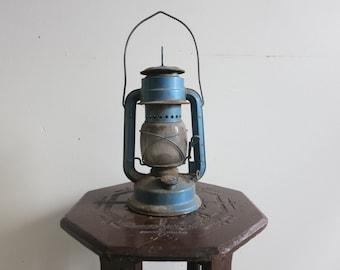 Vintage Blue Camping Lantern