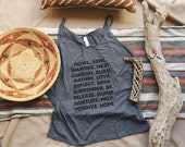 Way of Life Slouchy Tank Top