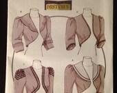 Butterick Pattern 5232 Historical Bolero Vest Victorian Costume sizes AA 6 8 10 12