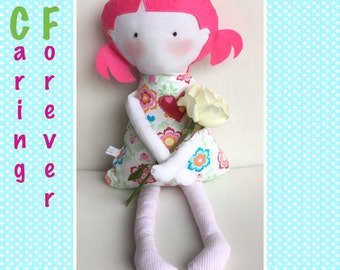 Caring Forever Dolls - dolls made to raise funds for Cystic Fibrosis Victoria