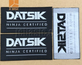 1000 HD woven label, custom high definition woven label