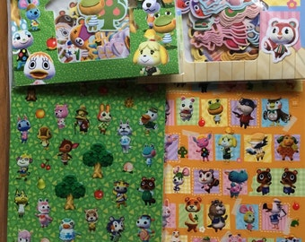Animal Crossing Sticker 4 bags set more than 230stickers