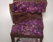 Lavender and Vanilla Goat's Milk Soap with Cocoa Butter - CocoLavAnilla - NO Coconut Oil