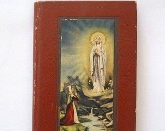 SALE Vintage French Petit Missel Des Enfants Small Missal For Children Editions Brepols Turnhout Paris Printed in Belgium 1956