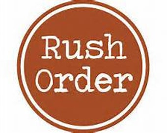 Rush Order - Wedding Favors Rush Order