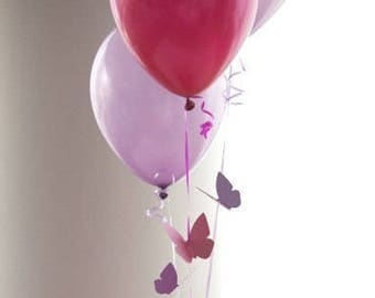 Butterfly First Birthday Party, Flying Butterfly Balloon Bouquets, Butterfly party Decorations - Choice of Colors