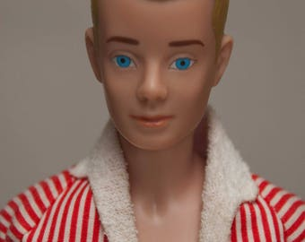 1964-1968 Ken doll and Wardrobe Case
