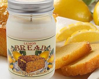 16 ounce Lemon Bread Jar Candle