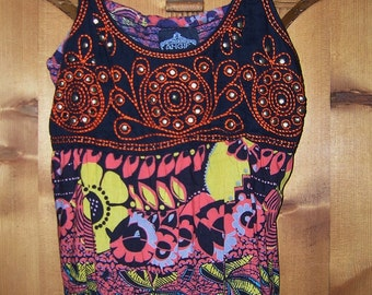 Tribal Print Summer Tunic