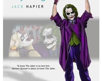 J Anything Joker 11x17 Digital print