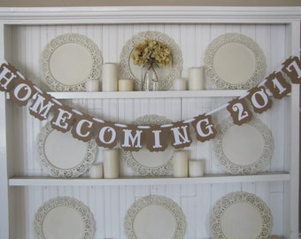 HOMECOMING 2017 Banner, High School Homecoming Dance, Homecoming Decoration