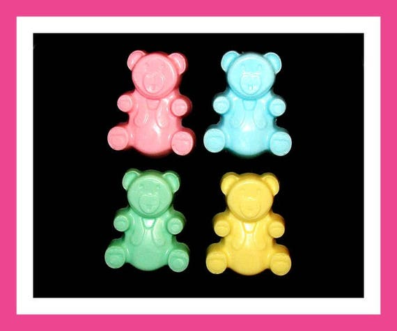 10 Bear Soap Favors, Baby Shower Favors,Personalized Baby Shower Button Pin,Birthday Party Favors,Its a Girl,Its a Boy,Kid Soap,Bear