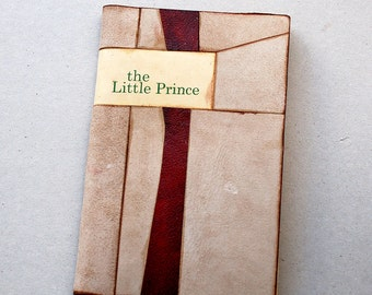 The Little Prince  of saint exupery bound in leather limited edition