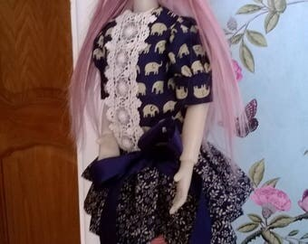 Dress and Beret Hat