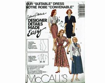 Size 24 Bust 46 Jacket and Dresses Uncut Vintage Sewing Pattern Palmer Pletsch Designer Details Made Easy McCalls 5810