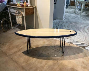 Surfboard Coffee Table or End Table