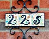 4 x 4 tiles Garden style