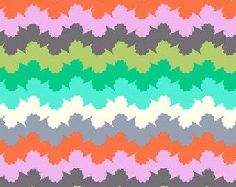 Organic Stripe - ZEST - PER 25CM - Amy Butler - VIOLETTE - PWAB138 - 100% Cotton Quilt Fabric