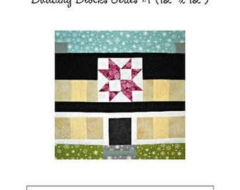 Curlicue Creations House Quilt Block Pattern, Building Blocks Series #1