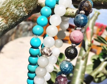 Trio of Stunning Beaded Bracelets