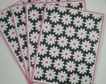 Note Card Set, Note Cards, Blank Cards, Stationery Set, Daisy Note Cards, Blank Note Cards, Floral Cards, Cards for Her, Daisies, Flowers
