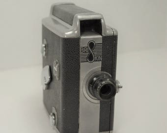 Vintage Briskin 8mm  Movie Camera