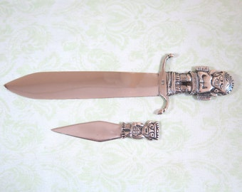 Peruvian Sterling Silver Letter Openers