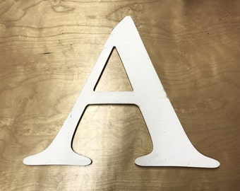 A - Reclaimed vintage letter - 16 inch - NEW
