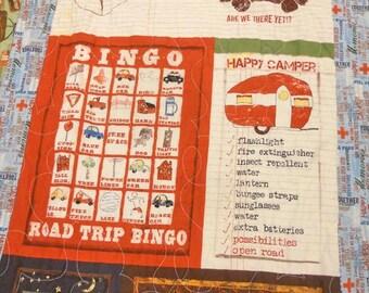Road Trip Bingo kit....pattern designed by Mickey Zimmer