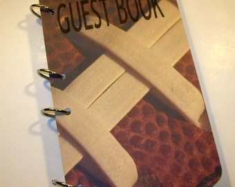 Football Guest Book, Football Party, Sports Birthday, Football Party Autograph Book, Sports Baby Shower