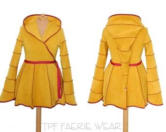 Plain Fleece Short Tournedot Jacket(length 3).6 stripe positively pixie hood/6 stripe sidhe sleeves