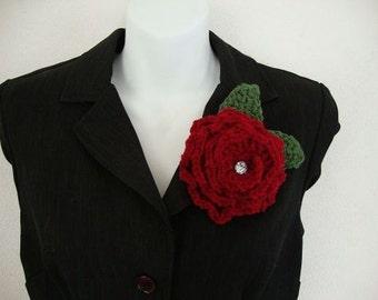 Crochet Rose Pattern PDF Pattern Only