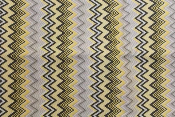 "Chevron fabric,Multi color chevron fabric,Quilt fabric,Apparel fabric,Craft fabric,JoAnn fabrics,END OF BOLT Fabric Remnant 1 Yard 32"" x 44"""