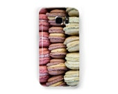 Macarons Phone Case Gift for Foodies - Available for Samsung Galaxy S7 Edge, Galaxy S7, Galaxy S6 Edge, Galaxy S5, Galaxy S4, Galaxy S3