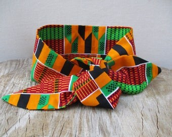 African Print headband, Kente headband, Hairband, Hair accessory