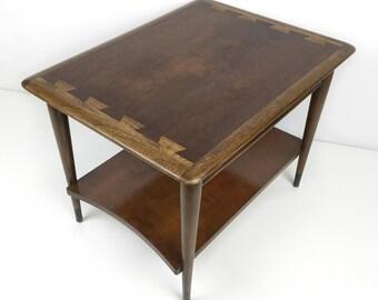 Mid century modern table / Lane Acclaim end table / Lane Acclaim / mcm side table