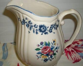 Nikko Tablemate Homestead Flower Garden pitcher
