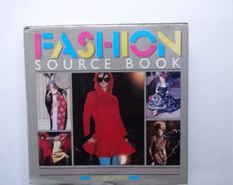 Vintage Hardback Fashion Source Book 1988