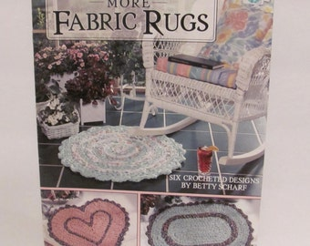 More Fabric Rugs by Betty Scharf Book