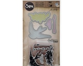 LOVE YOU Tim Holtz Alterations Collection, Framelits Dies and Repositionable Rubber Stamps - 660190