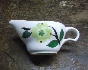 Dixie Dogwood Creamer by Stetson, Dixie Dogwood Creamer by Joni China, Chartreuse Flower