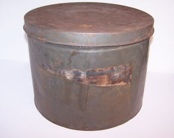 Tin Canister Metal Lid