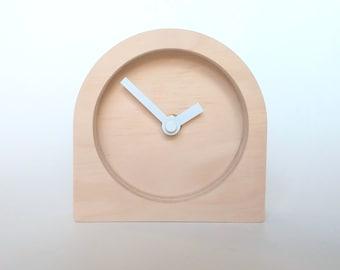 Objectify Plain Desk Clock - Small