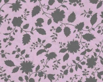11285 Amy Butler PWAB143 Twilight vine in plum  color - 1 yard