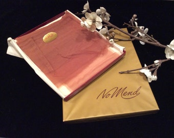 Vintage New Old Stock No Mend Seamless Nylons, Vintage Hosiery, Vintage NOS, Vintage Stockings Size 8 1/2  M