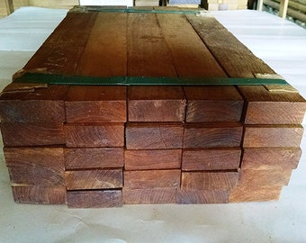 "25 pack of Teak Wood boards. Each board 19"" x 2"" x 1"". Teak from Thailand"