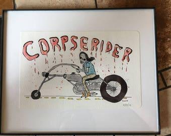 Corpserider (original drawing)